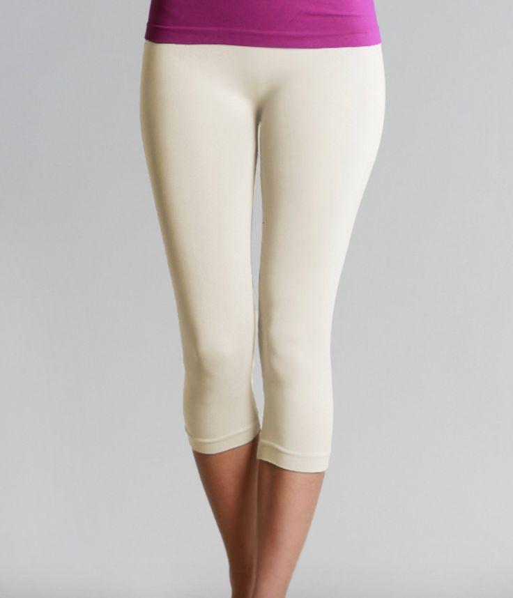 Capri Leggings (Ivory)