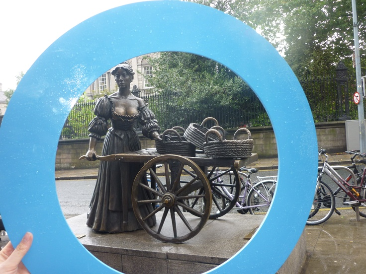 Blue Circle Campaign takes on Dublin!  Molly Malone