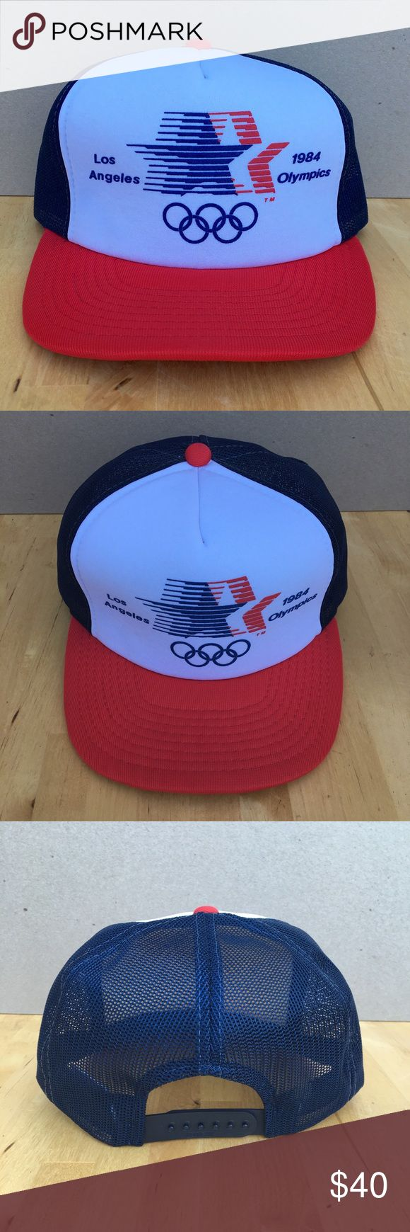 I just added this listing on Poshmark: 1984 Los Angeles Olympic Games mesh hat official. #shopmycloset #poshmark #fashion #shopping #style #forsale #Other