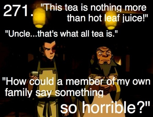 The Last Airbender: hot leaf juice