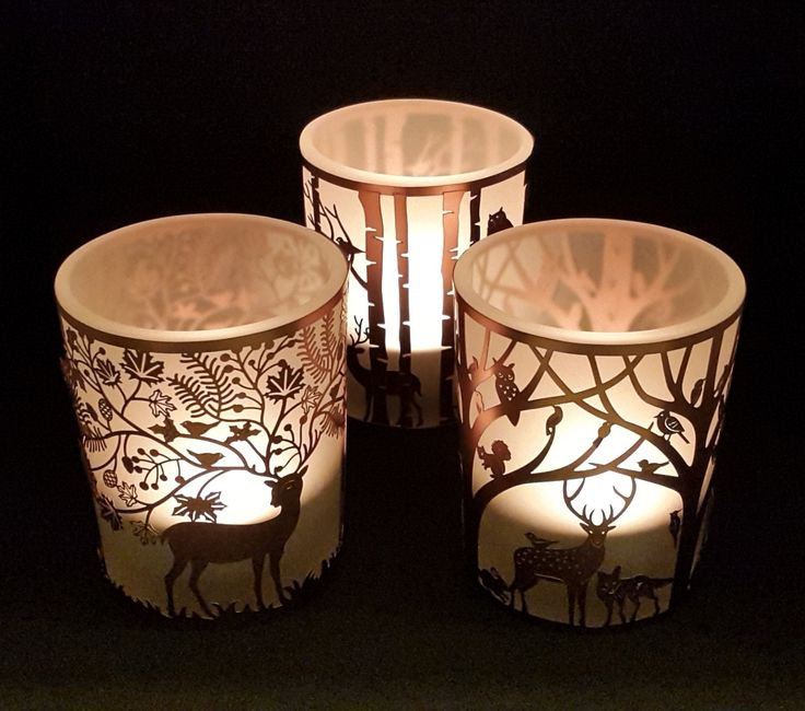 Woodland Tealight Holder Collection - Presentorium - Your Secret Weapon for Gifting