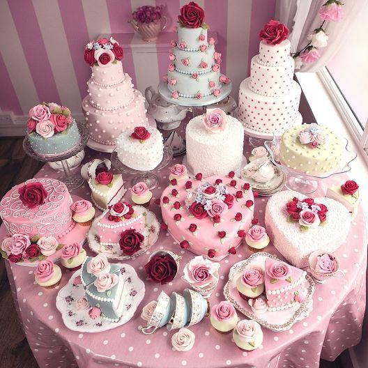 Let Them Eat Cake: A Cath Kidston Inspired Shoot Wedding inspiration - Elizabeth's Cake Emporium