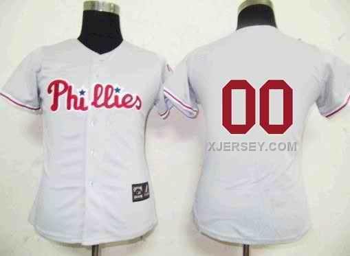 http://www.xjersey.com/philadelphia-phillies-blank-grey-women-custom-jerseys.html Only$75.00 PHILADELPHIA PHILLIES BLANK GREY WOMEN CUSTOM JERSEYS Free Shipping!