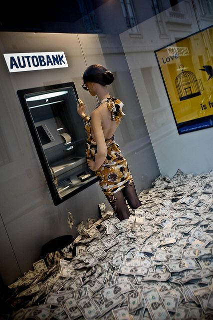 money for nothing and .............pinning by Ton van der Veer