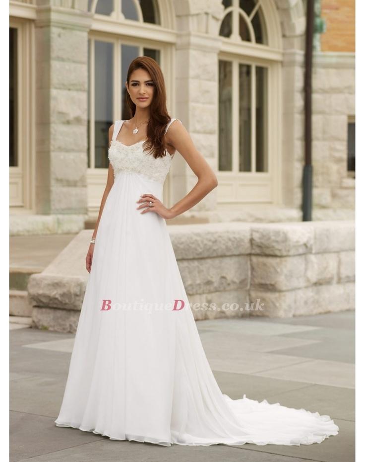 68 besten Wedding Dresses Bilder auf Pinterest | Hochzeitskleider ...