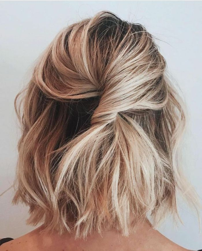 1001 Stylische Und Wunderschone Ideen Fur Frisuren Fur Kurze Haare Frisuren Kurze Haare Blond Blonde Haare Mit Strahnen Mittellange Haare Frisuren Einfach