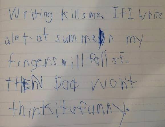 100 Ridiculously Funny Kids Who Will Keep You Laughing For Hours In 2020 Funny Kids Writing Funny Kids Homework School Quotes Funny