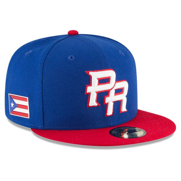 3349233134039 ... usa mens puerto rico baseball new era royal red 2017 world baseball  classic 59fifty fitted hat