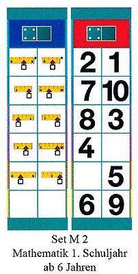 Flocards Set M 2 Mathematik 1. Kl.