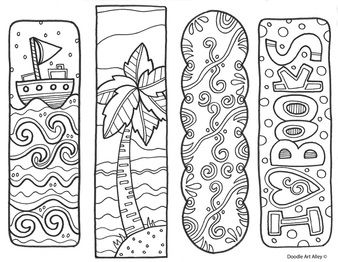 Bookmarks for your classroom library!  @Classroom Doodles
