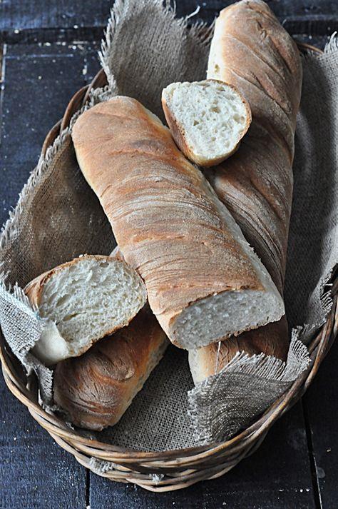 Najlepsze bagietki pszenne - Damsko-męskie spojrzenie na kuchnię