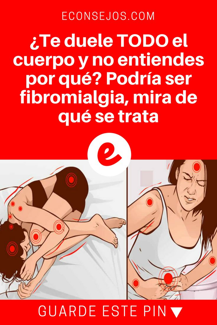 Fibromialgia en español | ¿Te duele TODO el cuerpo y no entiendes por qué? Podría ser fibromialgia, mira de qué se trata | Ese dolor muscular inexplicable, podría tener solución.
