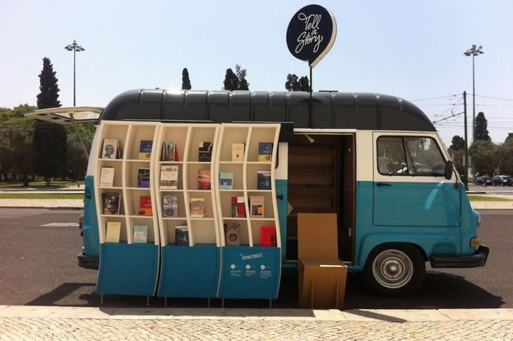 気がつけばそこに…ポルトガルの移動本屋『Tell a Story』の魅力