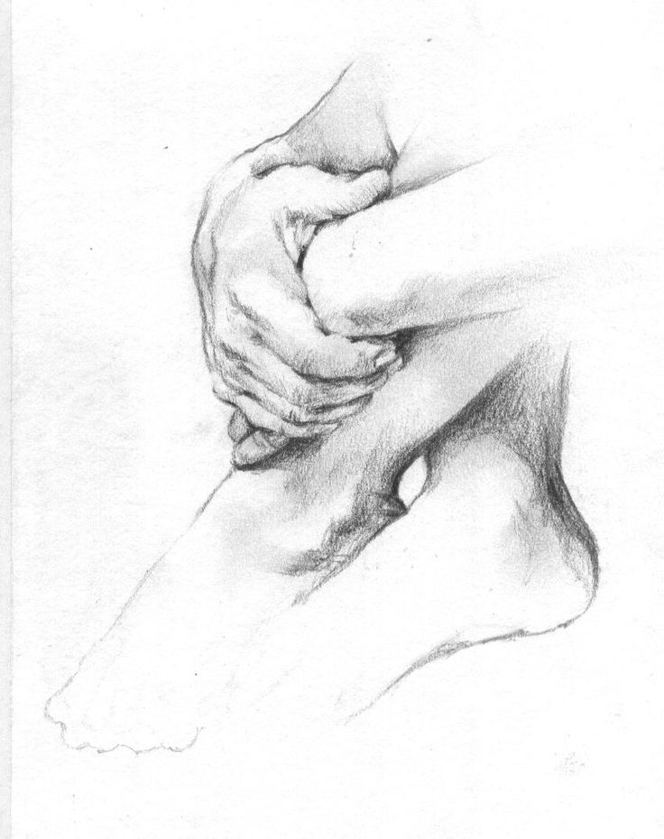Sketches of Hands | pencil sketch of some photo of hands and feet that i found on the ...