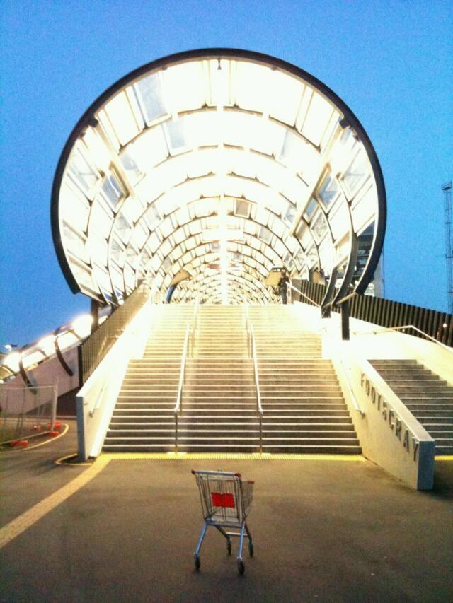 Footscray station.