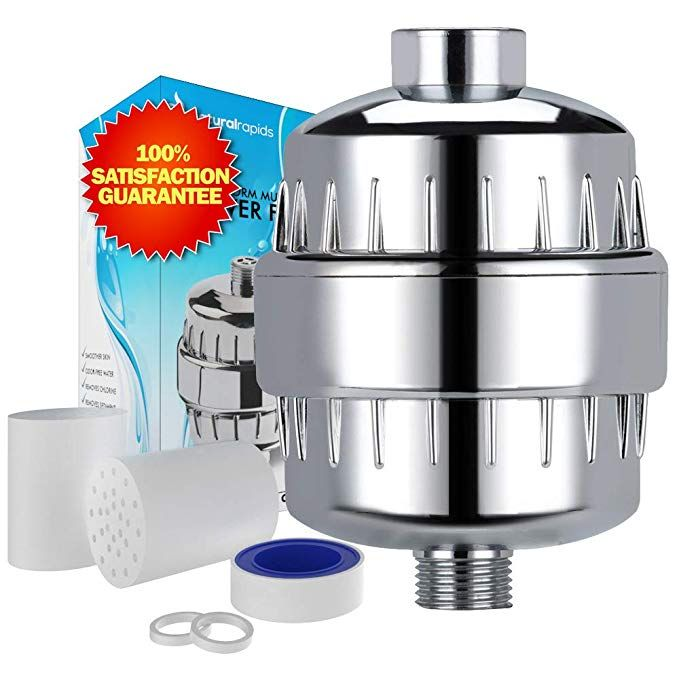 Universal Shower Head Water Filter Works Best To Remove Chlorine