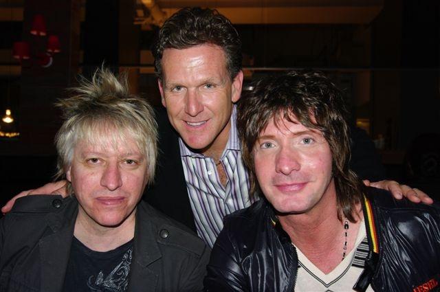 Sergio Galli, Dan Cooper and Mark-Holmes. Platinum Blonde!