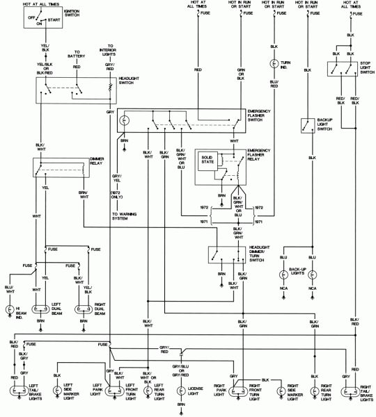 1971 Vw Beetle Wiring Diagram | Diagram, Vw beetles, Power ...