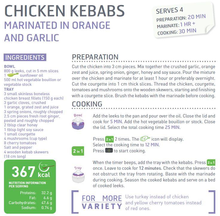 tefal air fryer recipes pdf