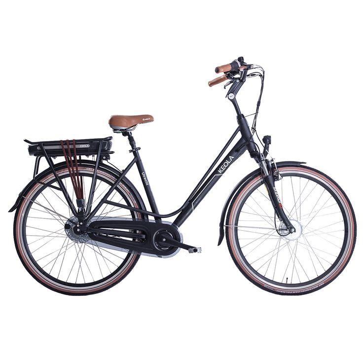 Keola Elektrische fiets Utrecht dames mat zwart 51cm 374 Watt Zwart  Description: De Keola Utrecht is een zeer luxe elektrische 28 inch damesfiets met een lichtgewicht aluminium frame en een framehoogte van 51 centimeter. Uitgevoerd met een krachtige stille voorwielmotor. De Samsung accu is krachtig en betrouwbaar want met zijn 36 volt en 104 ampére (374 Watt) fiets je in de eco-stand 60 tot 80 kilometer. Halfords Bike Lease geeft je de mogelijkheid een elektrische fiets te leasen in plaats…
