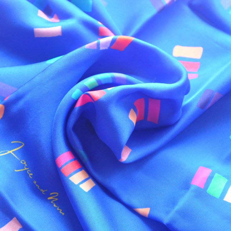 Casa silk scarf by Joyce and Nim. Made in Italy