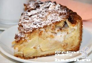 Бранденбургский яблочный пирог, sladkaya vypechka i deserty pirozhki pirogi