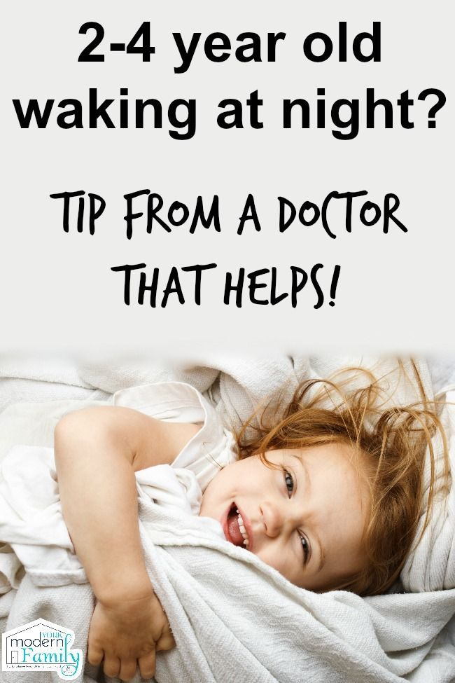 My 2 year old is still waking up at night – advice from a Pediatrician