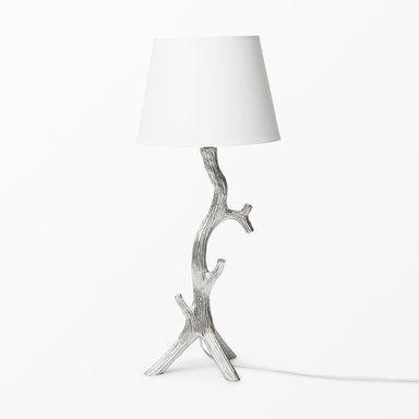 Bordslampa med grenformad lampfot