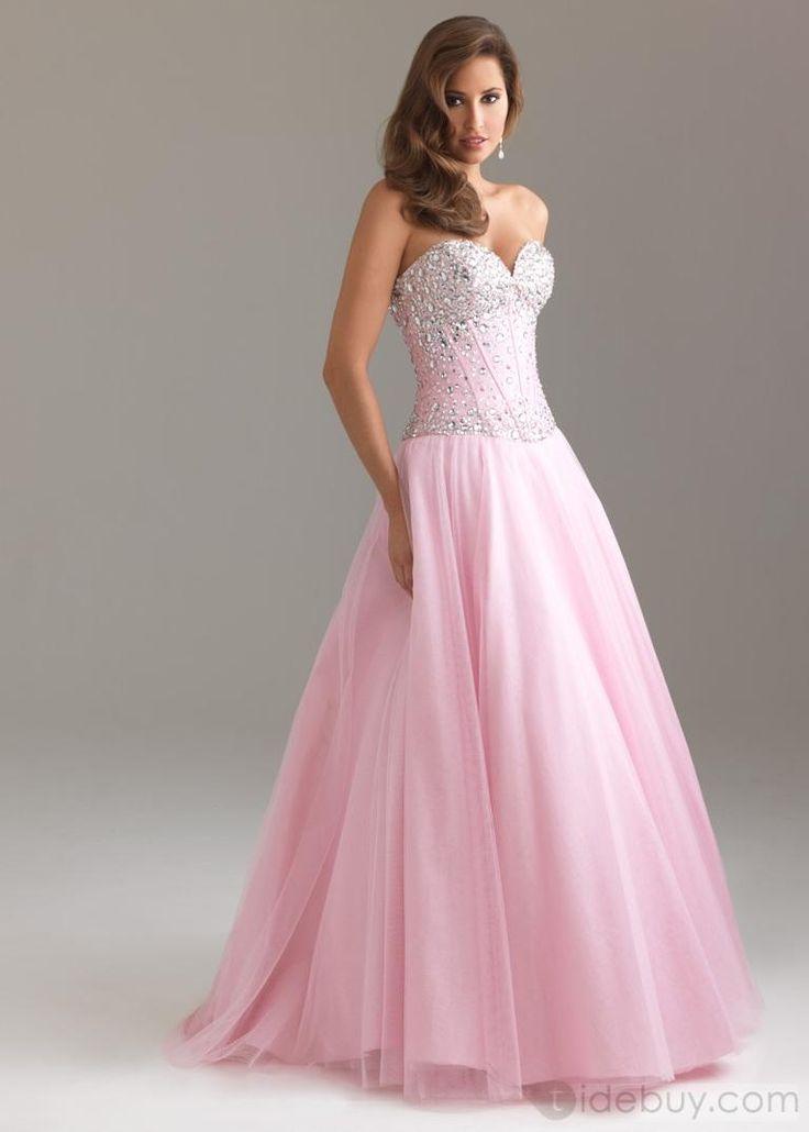 22 best Vestidos de Fiesta images on Pinterest   Evening gowns ...