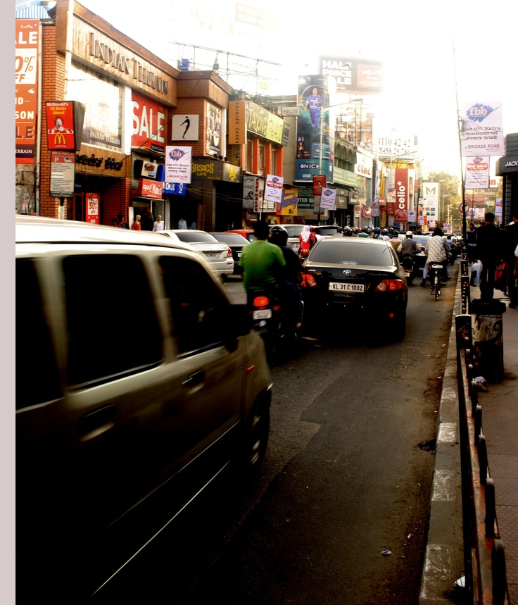 A day on MG/Brigade Road