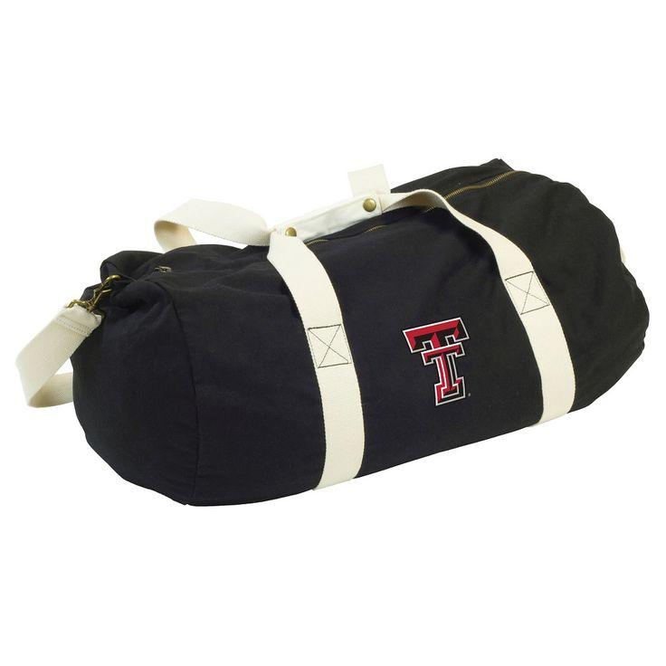 Logo Brands 13 NCAA Sandlot Duffel Bag - Texas Tech, Tx Tech