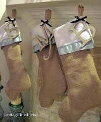 burlap stockings - Google Search