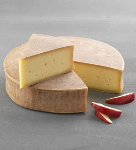 Abondance (Cow's milk) - from Rhône-Alpes. Recommended wine to go with it: Mondeuse