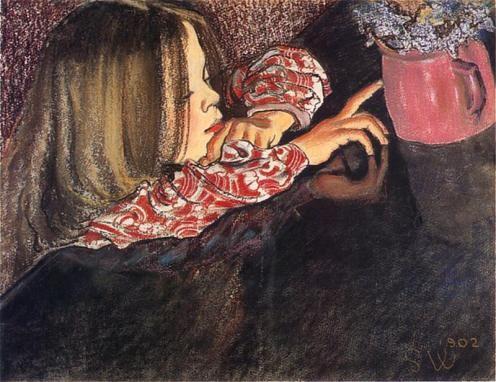 Moj ulubiony obraz Wyspianskiego. Stanislaw Wyspianski - Poland