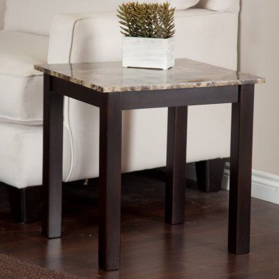 Palazzo Faux Marble End Table   WSMP06 E