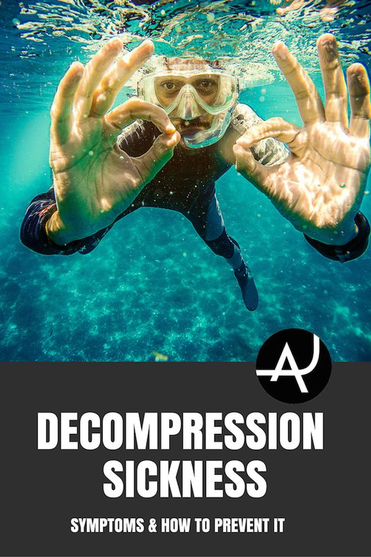 Decompression Sickness. Learn what are the main decompression sickness symptoms and learn what you can do to prevent them to enjoy a fun and safe dive.