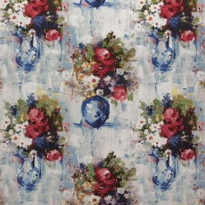 Hertex Fabrics - Impressionists Solstice Red