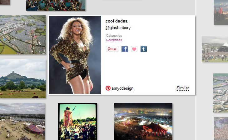 Glastonbury headliners of the past: Beyonce: found at wesee.com