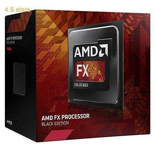 AMD FX 8350 Black Edition Vishera CPU (8 Core AM3 Clock 4.0 GHz Turbo 4.2 GHz 8 MB L3 Cache 125 W)