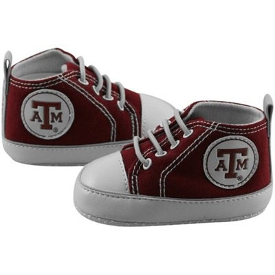 Aggie Baby Shoes ~ I saved the ones my boys had. They never wore them though because I was too afraid to squish their feet into them.