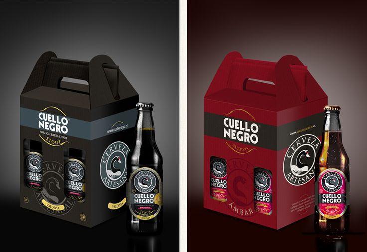 Desarrollo de Packaging Cerveza Cuello Negro