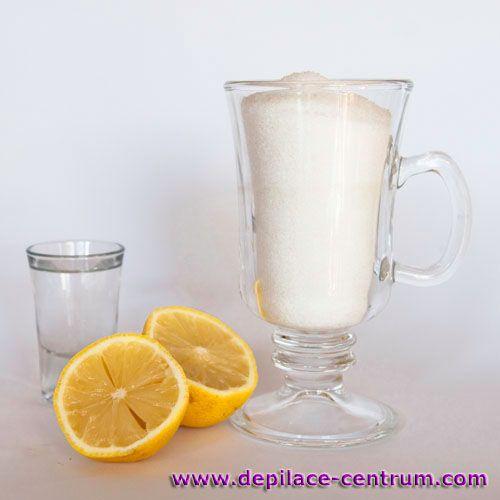 Recept na depilační cukrovou pastu