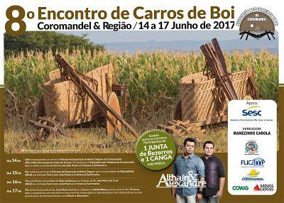 Festas de Carros de Boi e a cultura do sertanejo: Encontro de Carros de Boi de Coromandel & Região