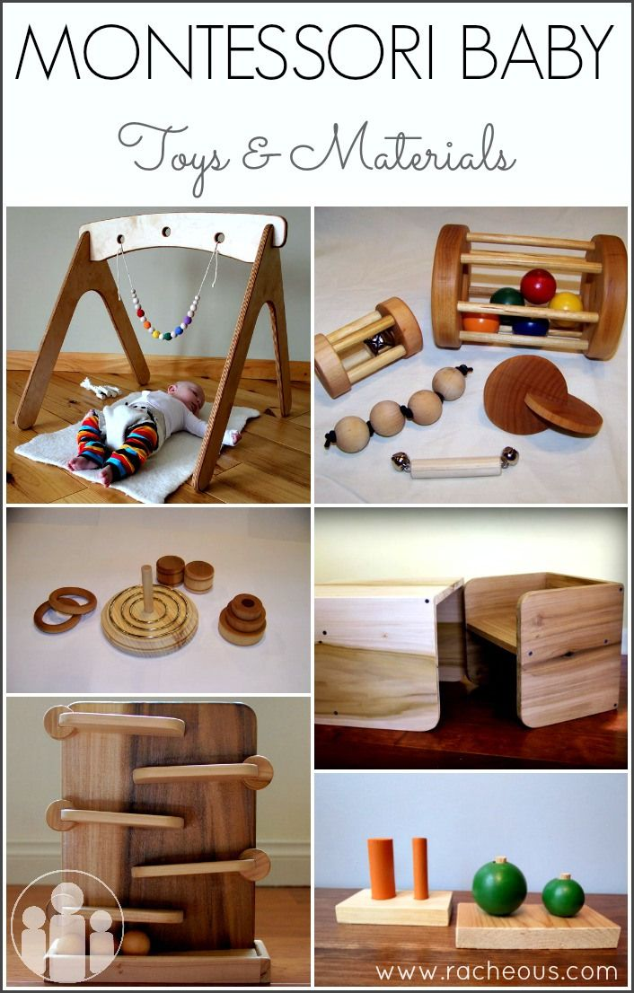 Montessori baby toys and Materials at Lovable Learning. Some of these look so neat and could be homemade fairly easily.