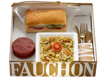 #fauchon lunch #packaging. Now that's a lunch box! PD