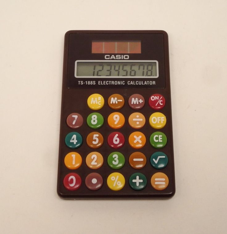 Vintage Casio TS-188S Rare Solar Electronic Calculator #Casiohttp://stores.ebay.com/price-less-finds/Vintage-Collectible-/_i.html?_fsub=10901744017