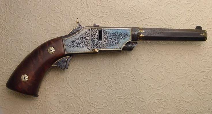 A .40 S+W, single shot Boot Pistol.