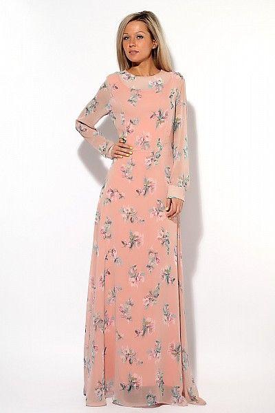 длинное платье Dolce and Gabbana 93986