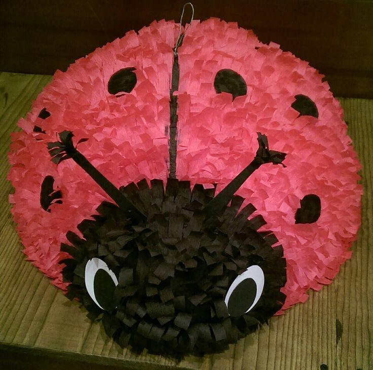 Ladybug pinata - A pretty in pink ladybug $65