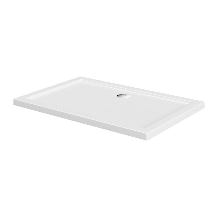 See our Rectangular stone shower tray plus many more shower trays at VictoriaPlum.com. Plus 365 day no quibble returns. - £89.99